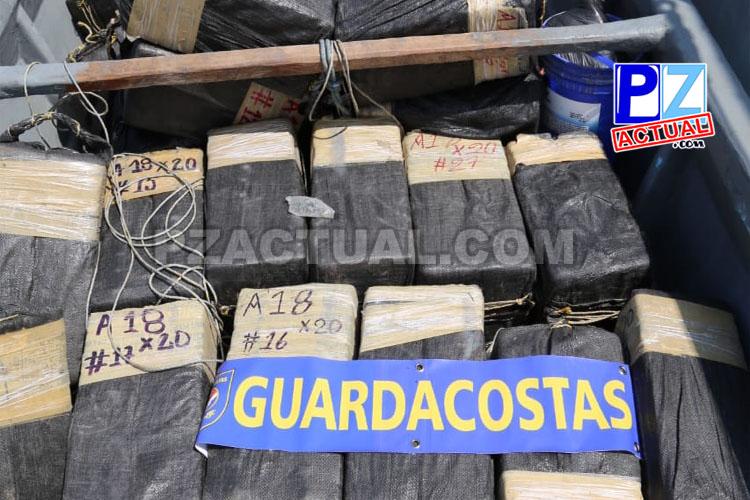 Decomiso de droga en alta mar Patrullera Juan Rafael Mora Porras  www.pzactual.com