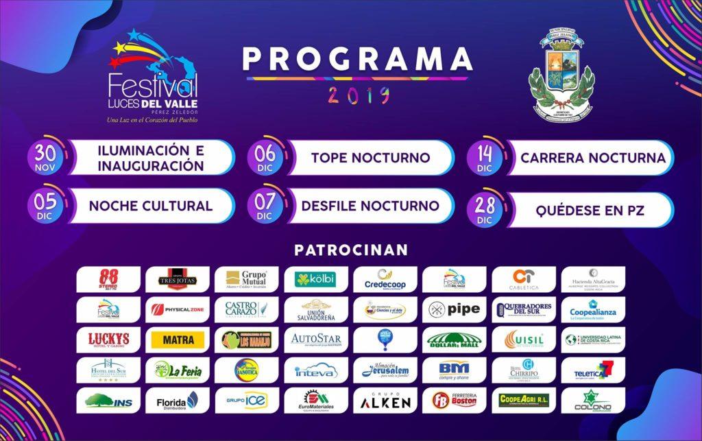 Festival Luces del Valle, www.pzactual.com